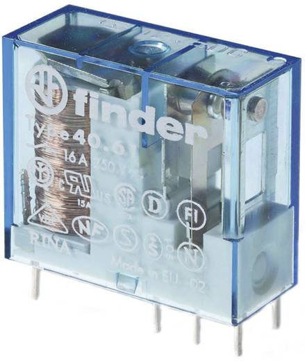 Printrelais 24 V/DC 16 A 1 Wechsler Finder 40.61.9.024.0000 1 St.