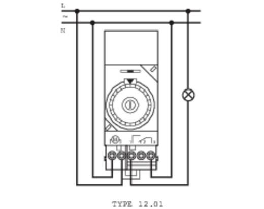 Zeitschaltuhr für Hutschiene Betriebsspannung: 230 V/AC Finder 12.01.8.230.0000 1 Wechsler 16 A 250 V/AC Tagesprogramm,