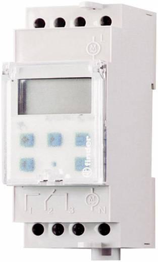 Zeitschaltuhr für Hutschiene Betriebsspannung: 230 V/AC Finder 12.22.8.230.0000 2 Wechsler 16 A 250 V/AC Wochenprogramm