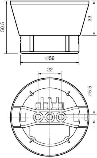 IR-Bewegungsmelder 1 St. 18.21.8.230.0000 Finder 230 V/AC 1 Schließer