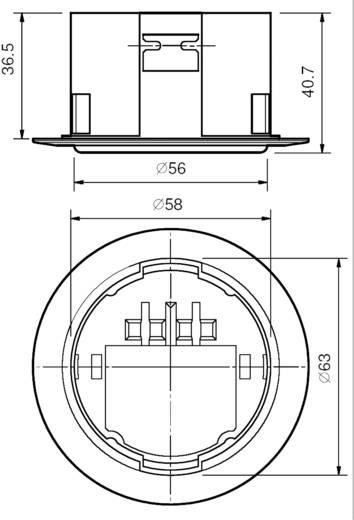 IR-Bewegungsmelder 1 St. 18.31.8.230.0000 Finder 230 V/AC 1 Schließer (Ø) 65 mm