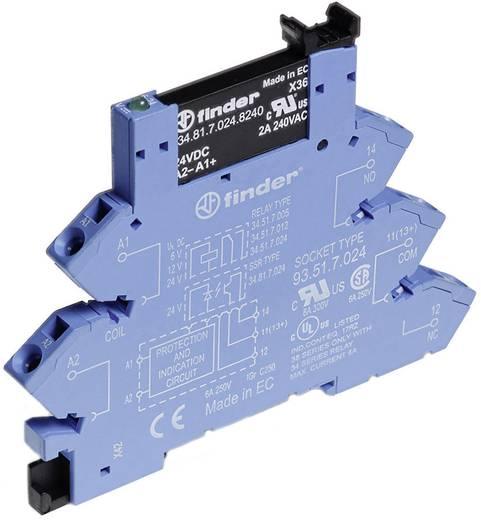 Halbleiterrelais 1 St. Finder 38.91.7.024.8240 Last-Strom (max.): 2 A Schaltspannung (max.): 240 V/AC