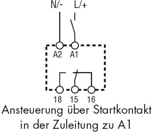 Zeitrelais Monofunktional 1 St. Finder 80.21.0.240.0000 Zeitbereich: 0.1 s - 20 h 1 Wechsler