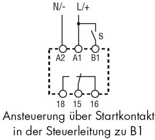 Zeitrelais Monofunktional 1 St. Finder 80.41.0.240.0000 Zeitbereich: 0.1 s - 20 h 1 Wechsler