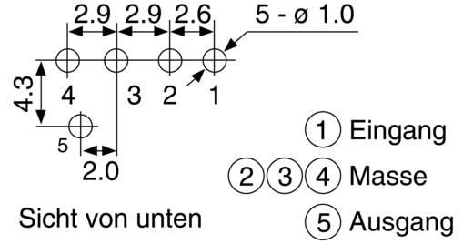 Funk-Entstörfilter (L x B x H) 11.7 x 7 x 8.5 mm CFW 455F 1 St.