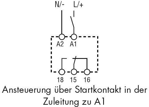 Zeitrelais Monofunktional 1 St. Finder 80.61.0.240.0000 Zeitbereich: 0.1 - 20 s 1 Wechsler