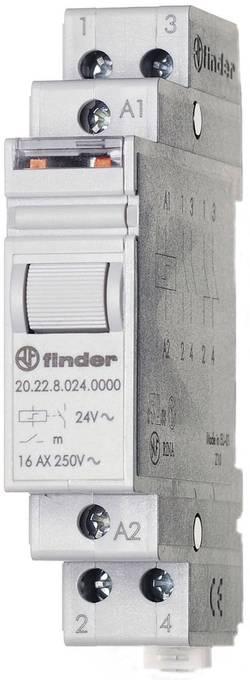 Impulzný spínač Finder 20.22.9.024.4000, 2 spínacie, 24 V/DC, 16 A, 4000 VA