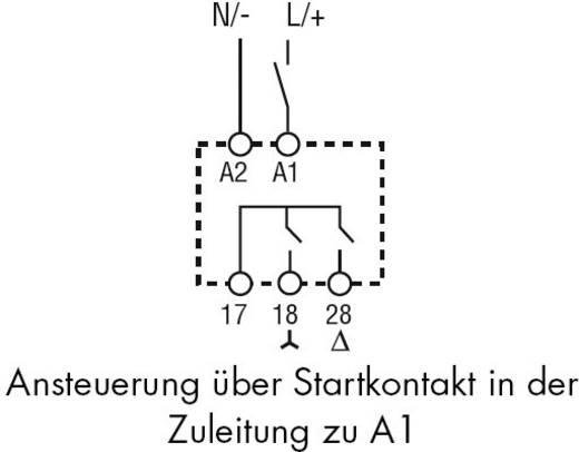 Finder 80.82.0.240.0000 Zeitrelais Monofunktional 1 St. Zeitbereich: 0.1 s - 20 min 2 Schließer