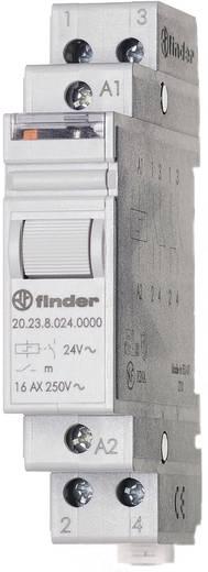 Stromstoß-Schalter Hutschiene 1 St. Finder 20.23.9.024.4000 1 Schließer, 1 Öffner 24 V/DC 16 A 4000 VA