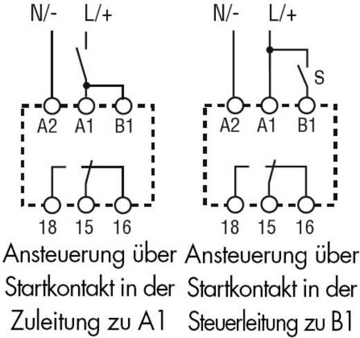 Zeitrelais Multifunktional 1 St. Finder 80.91.0.240.0000 Zeitbereich: 0.1 s - 20 h 1 Wechsler