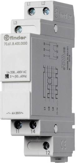Überwachungsrelais 480 - 208 V/AC 1 Wechsler 1 St. Finder 70.61.8.400.0000 3-Phasen, Phasenfolge, Phasenausfall