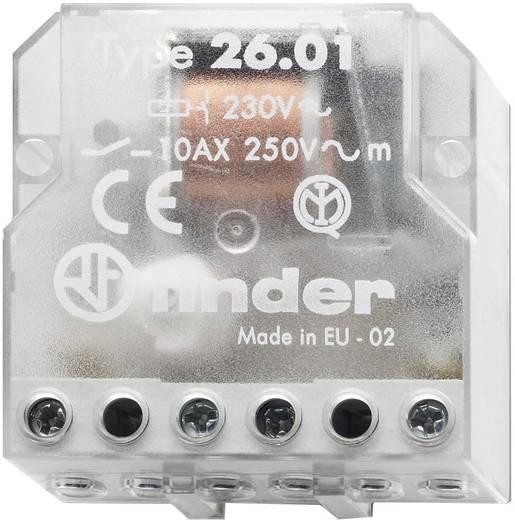 Stromstoß-Schalter Unterputz 1 St. Finder 26.01.8.012.0000 1 Schließer 12 V/AC 10 A 2500 VA
