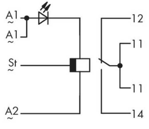 Zeitrelais Monofunktional 230 V/AC 1 St. WAGO 286-450 1 Wechsler
