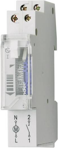 Zeitschaltuhr für Hutschiene Betriebsspannung: 230 V/AC Finder 12.11.8.230.0000 1 Schließer 16 A 250 V/AC Motorantrieb,