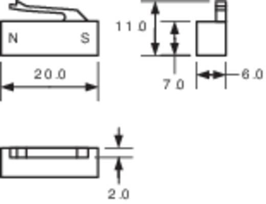 Betätigungsmagnet für Reed-Kontakt PIC MSM-320