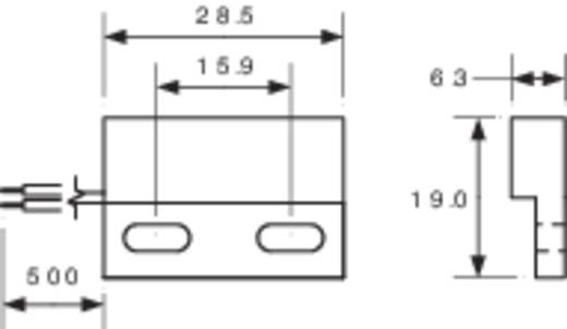 Reed-Kontakt 1 Schließer 200 V/DC, 140 V/AC 1 A 10 W PIC MS-328-3