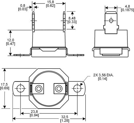 NTC Temperatursensor Honeywell 6655-99600003 -20 bis +110 °C