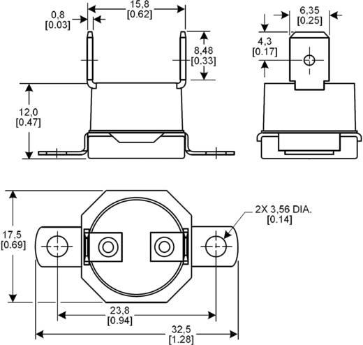 NTC Temperatursensor Honeywell 6655-90980004 -20 bis +110 °C