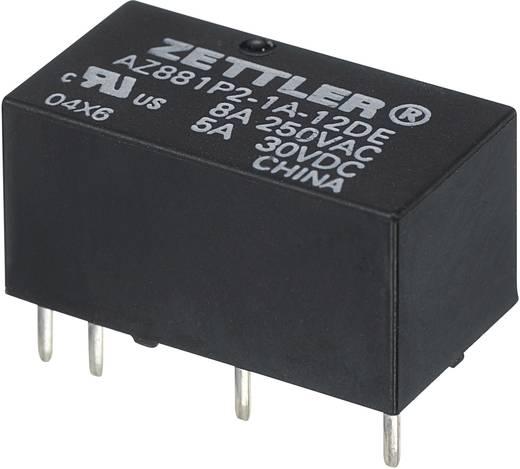 Printrelais 12 V/DC 5 A 2 Schließer Zettler Electronics AZ881-2A-12DEA 1 St.