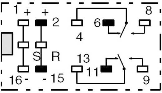 Printrelais 12 V/DC 2 A 2 Wechsler Omron G6AK-274P-ST-US 12 VDC 1 St.