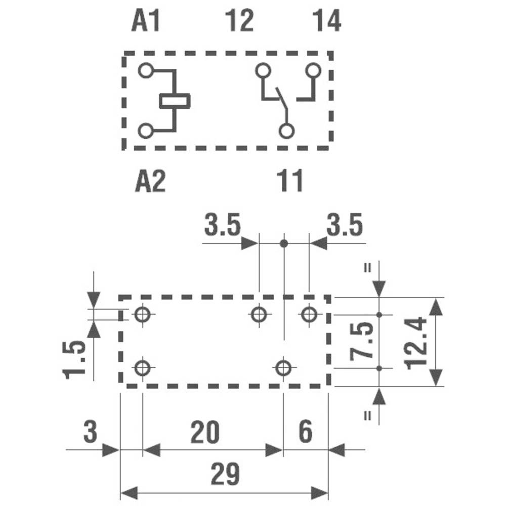 Pcb relays 24 vdc 12 a 1 change over finder 4031 from conrad pcb relays 24 vdc 12 a 1 change over finder 4031 cheapraybanclubmaster Choice Image