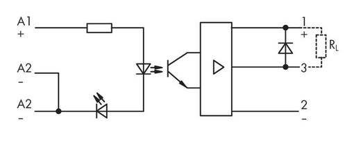 Optokopplerrelais 1 St. WAGO 286-720 Schaltspannung (max.): 24 V/DC