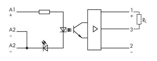 Optokopplerrelais 1 St. WAGO 286-730 Schaltspannung (max.): 110 V/DC