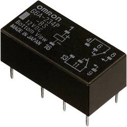 Relé do DPS Omron G6A-274P-ST-US 5 VDC, 5 V/DC, 2 A, 2 prepínacie, 1 ks