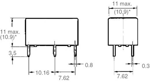 Printrelais 24 V/DC 5 A 2 Schließer Omron G6B-2214P-US 24 VDC 1 St.
