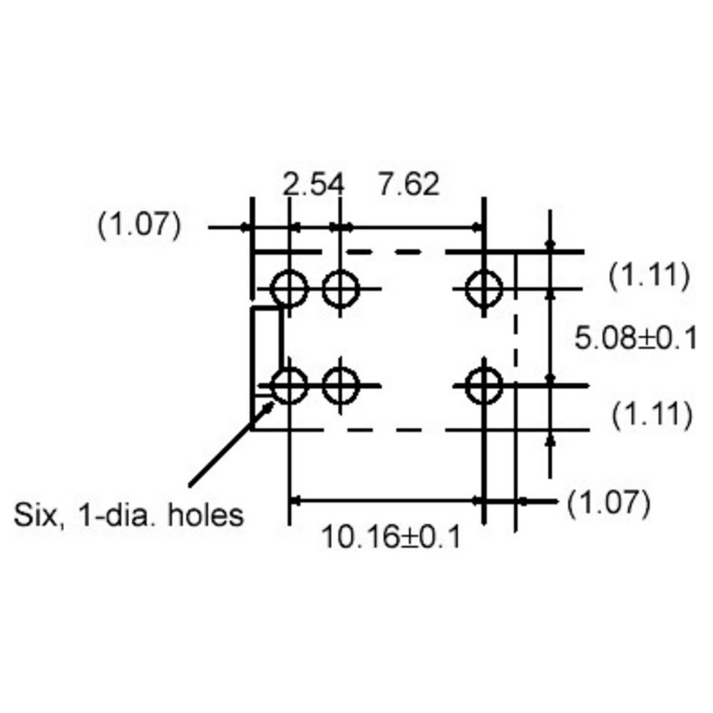 PCB relays 12 Vdc 1 A 1 change-over Omron G5V-1 12