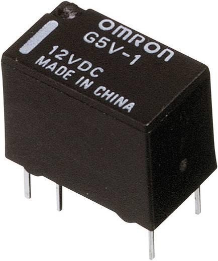 Printrelais 5 V/DC 1 A 1 Wechsler Omron G5V-1 5DC 1 St.