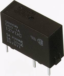 Relé do DPS Omron G6D-1A-ASI 24DC, 24 V/DC, 5 A, 1 spínací, 1 ks