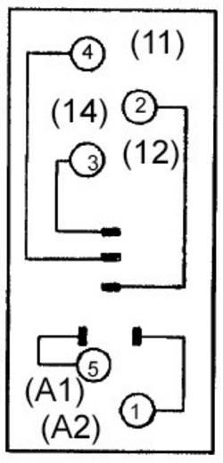 Relaissockel 1 St. Omron P2RF-05E (für G2R-1-S) Passend für Serie: Omron Serie G2R