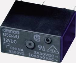 Relé do DPS Omron 24 V/DC, 5 A, 1 prepínací, G5Q-1-EU 24DC, 1 ks