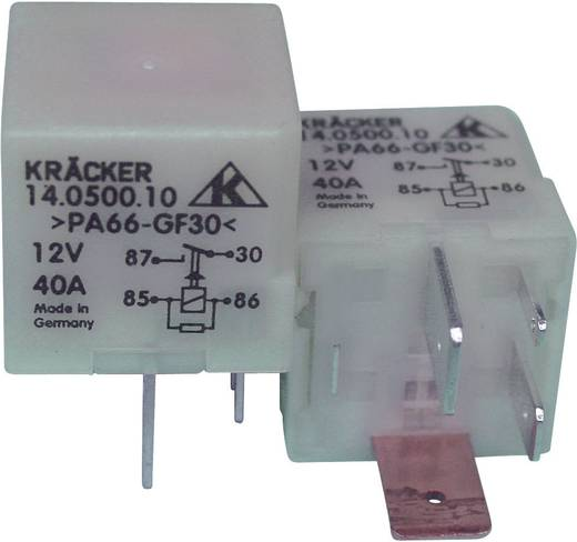 Kfz-Relais 12 V/DC 15 A 1 Schließer Kräcker 14.0500.10