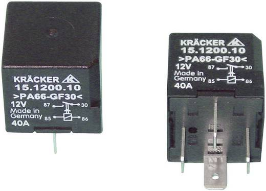Kfz-Relais 12 V/DC 40 A 1 Schließer Kräcker 15.1200.10