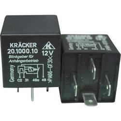 Automobilové relé Kräcker 20.1000.10, 12 V, 20 A, varovný blinkr pro přívěsy