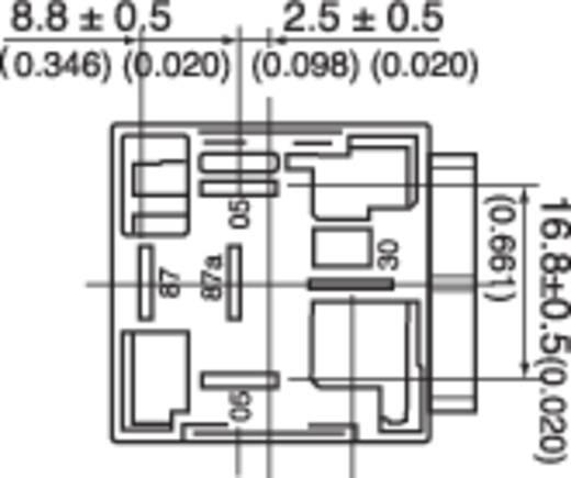 Kfz-Relais 12 V/DC 50 A 1 Schließer Song Chuan 896H-1AH-C1 12V DC