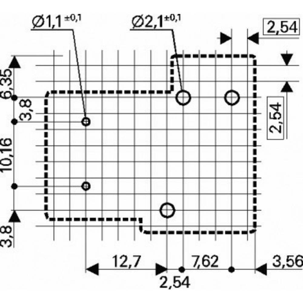 Song Chuan 832A-1C-C 12 PCB Mount Relay 12Vdc 1 CO, SPDT