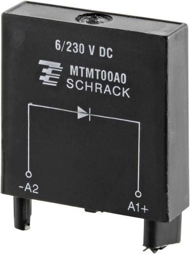 Steckmodul mit Schutzdiode, ohne LED 1 St. TE Connectivity MTMT00A0 =M21 Passend für Serie: TE Connectivity Serie MT