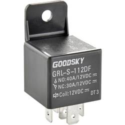 Automobilové relé Goodsky GRL-S-124DF, 24 V, 75 mA, 1x přepínací kontakt
