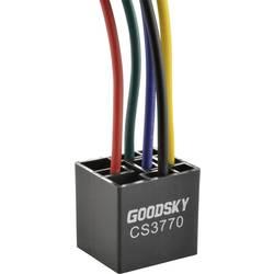 Patice pro relé Goodsky GRL CS3770, 1x přepínací kontakt s LED