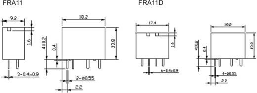 Kfz-Relais 12 V/DC 20 A 1 Wechsler Hongfa HFKD/012-1ZST