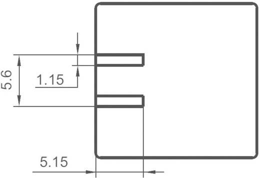 Kfz-Relais 12 V/DC 20 A 2 Wechsler Hongfa FRA11DC-S1-DC12V = HFKD/012-2ZST