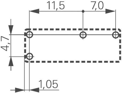 Printrelais 12 V/DC 5 A 1 Schließer TE Connectivity PCJ-112D3M-WG 1 St.