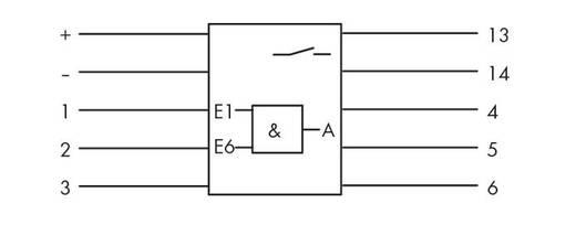 UND-Gatterbaustein 24 V/DC 1 Schließer WAGO 286-826 1 St.