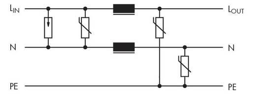 Überspannungsableiterbaustein 1 St. WAGO 286-831 Passend für Serie: Wago Serie 280 Passend für Modell: Wago 280-628, W