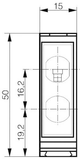 Kompakter quaderförmiger Reflexions-Lichttaster