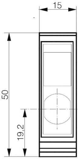 Reflexions-Lichttaster LHS-4050-103 Contrinex Hintergrundausblendung 10 - 36 V/DC 1 St.