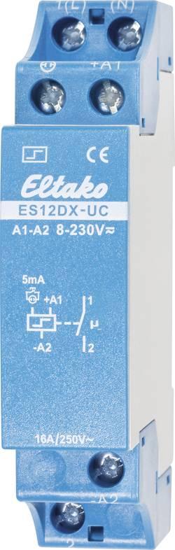 Impulsní spínač Eltako ES12DX-UC 21100002, 1 spínací kontakt, 16 A, 2000 W